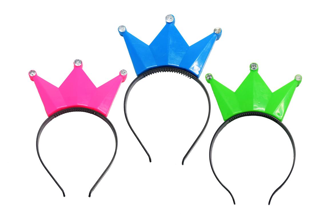 新款生日bv伟德发光公主皇冠头饰头箍