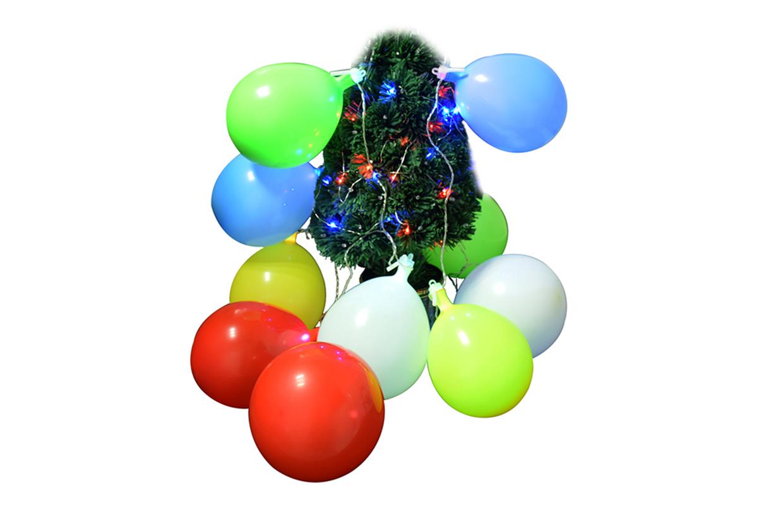 10灯LED气球灯串