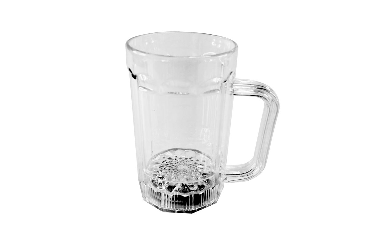 创意七彩LED闪光直身啤酒杯