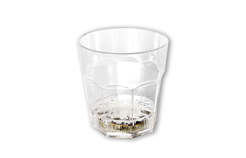 LED创意入水即亮闪光威士忌杯