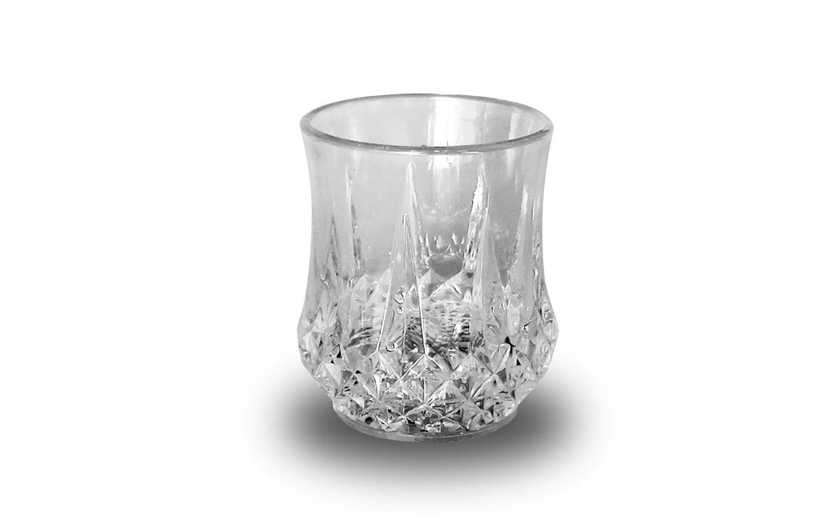LED创意水触发透明闪光菠萝杯