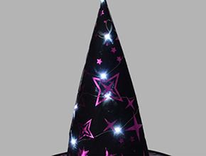 12灯闪光巫婆帽 3-1