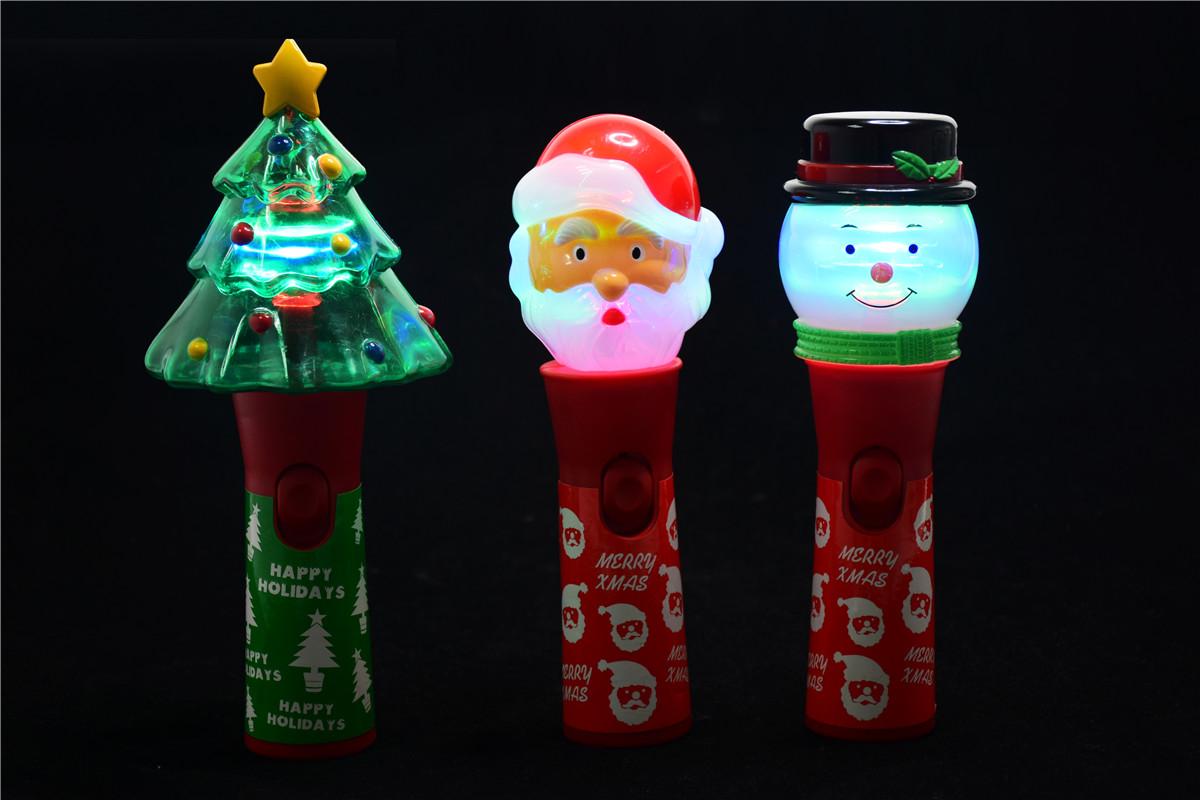 新款个性化订制圣诞节发光大转球