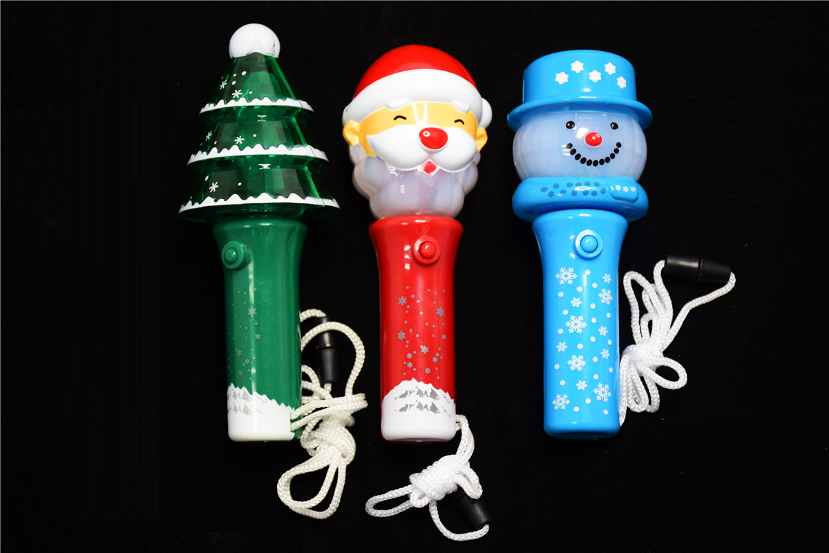 新款个性化订制圣诞节发光小转球