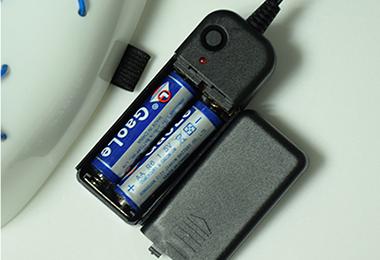 EL冷光线面具 电池图